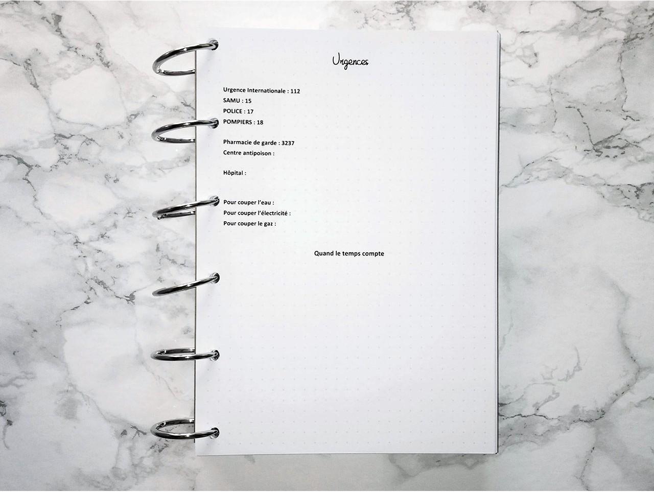 Pack Répertoire - Bujo